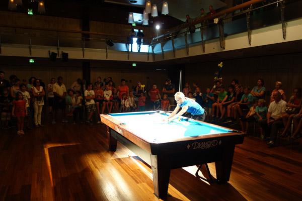 Billiard Sport Academy Jasmin Ouschan - Polo pool table movers
